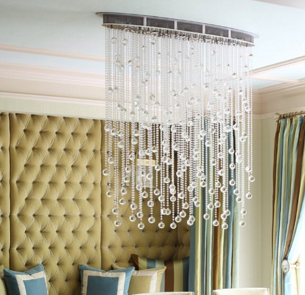 Fish Shape Oval Glass Chandelier Prestige Chandelier Custom - Chandelier raindrop crystals